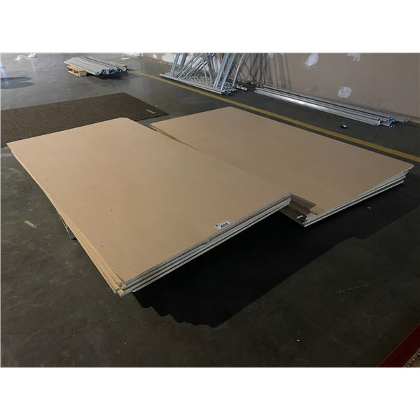 """LARGE QUANTITY OF PARTICLE BOARD 96 X 48"""""""