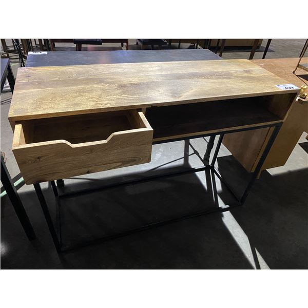 """SINGLE DRAWER HALL TABLE 16 X 46"""" MADE IN INDIA"""