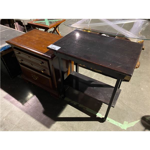 TABLE & NIGHT STAND