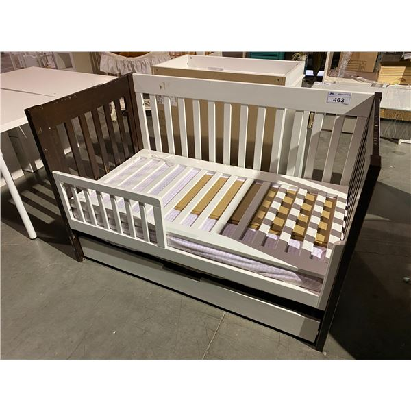 """CRIB 54 X 30"""" WITH PULL OUT DRAWER"""