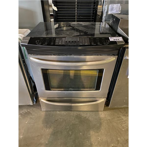 KENMORE ELITE CONVECTION OVEN INDUCTION STOVE
