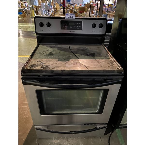 FRIGIDAIRE INDUCTION STOVE CONVENTIONAL OVEN