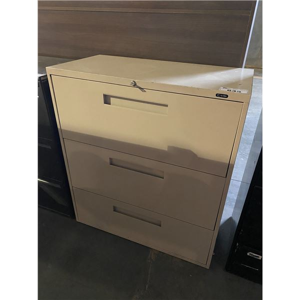 3 DRAWER CABINET WITH KEY