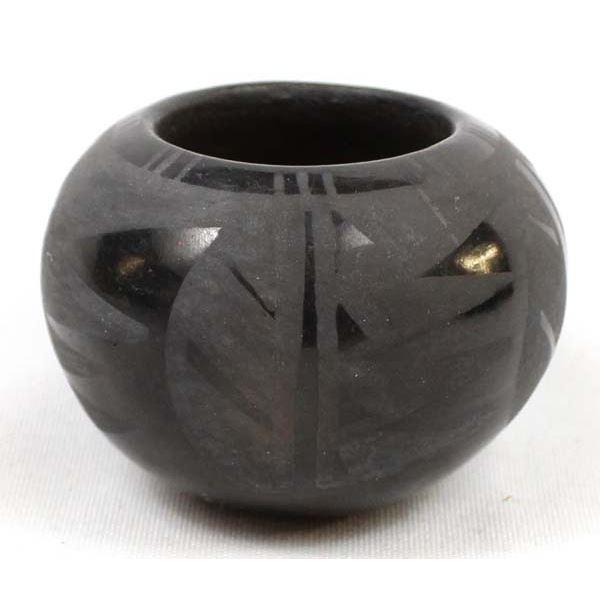 Vintage Native American Santa Clara Pottery Jar by Berdel