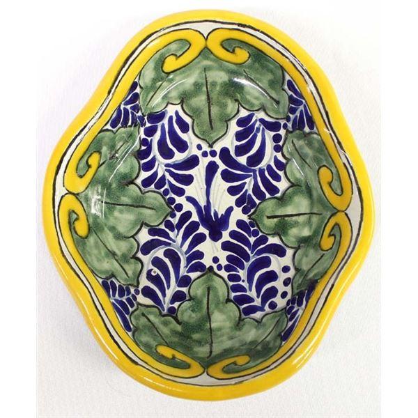 Mexican Talavera Art. Corona Pottery Bowl