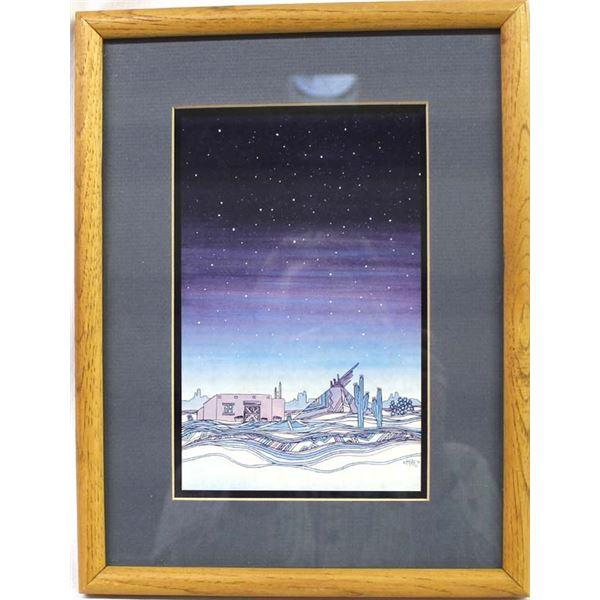 1991 Greg Kyle Southwestern Framed Print