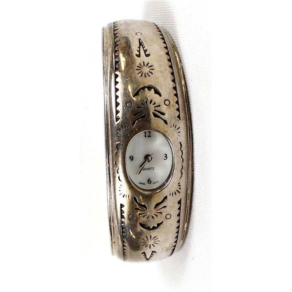 Sterling Silver Watch Bracelet