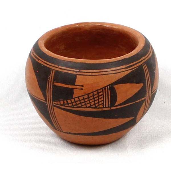 Hopi Pottery Bowl by Lawrence Namoki
