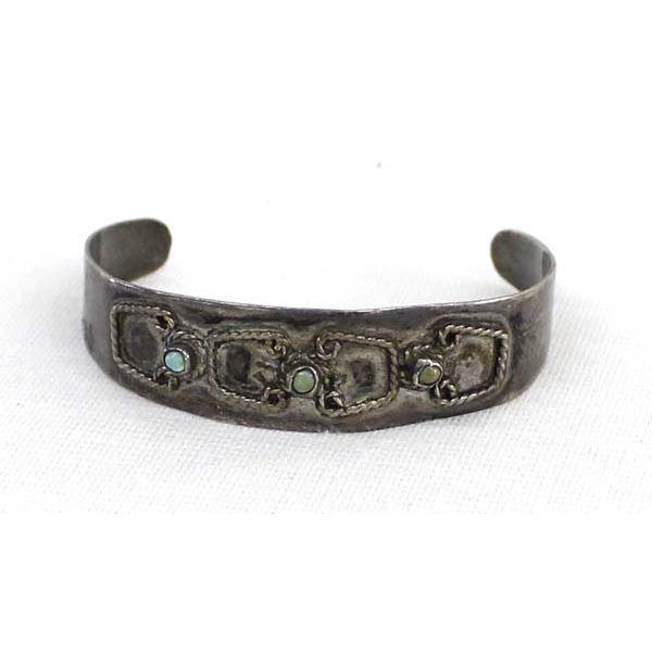 Vintage Mexican Sterling Silver Child's Bracelet
