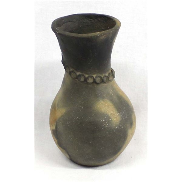 Native American Micaceous Clay Pottery Vase