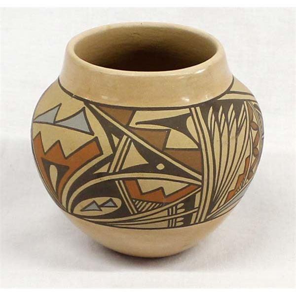 Jemez Polychrome Pottery Jar by Mary Tsosie