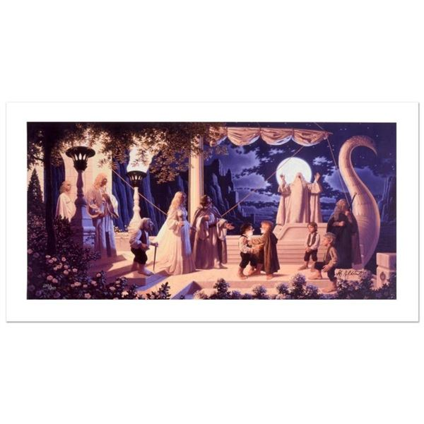 """At The Grey Havens"" Limited Edition Giclee on Canvas by The Brothers Hildebrand"