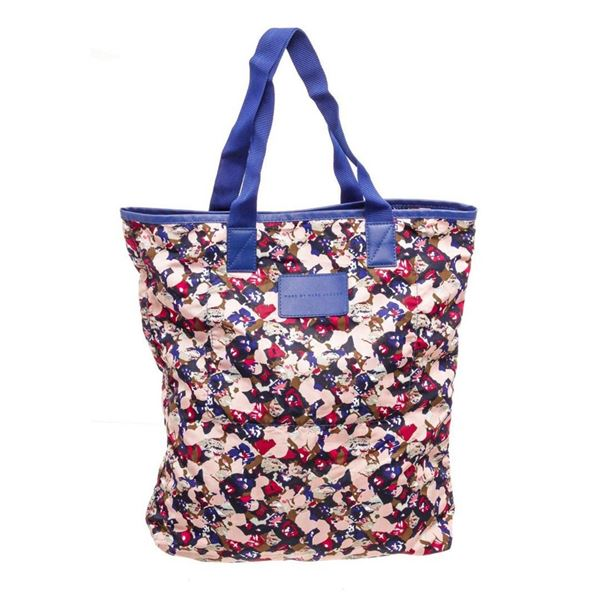 Marc by Marc Jacobs Multicolor Floral Nylon Packable Shopper Tote