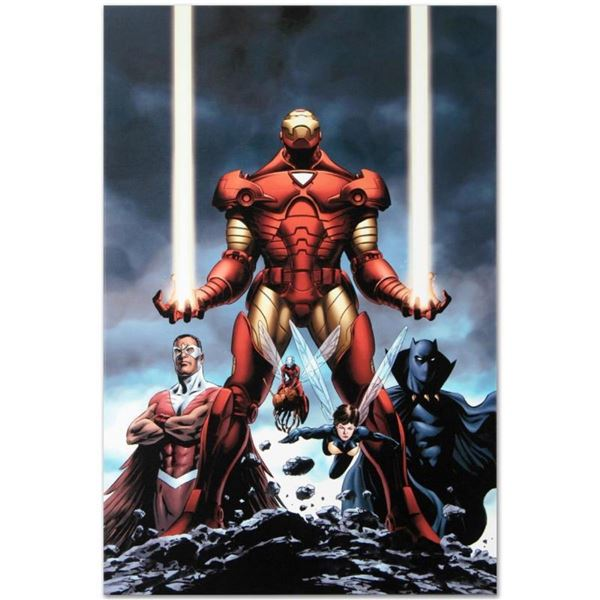 "Marvel Comics ""Iron Man #84"" Numbered Limited Edition Giclee on Canvas by Steve"