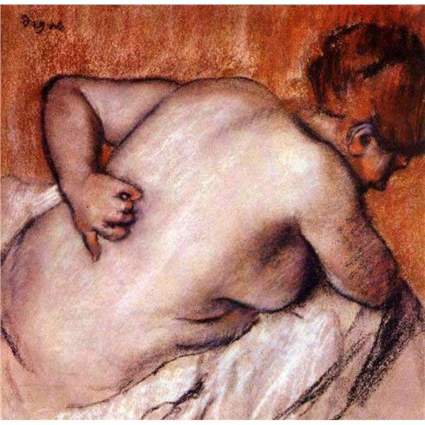 Edgar Degas - Womans Back