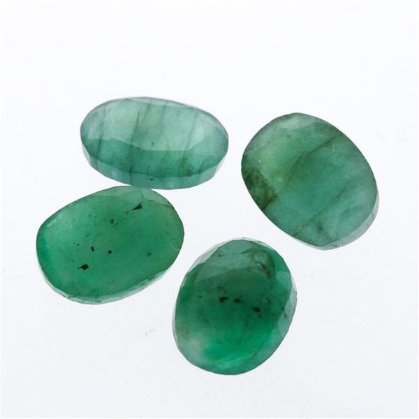4.85 cts. Oval Cut Natural Emerald Parcel