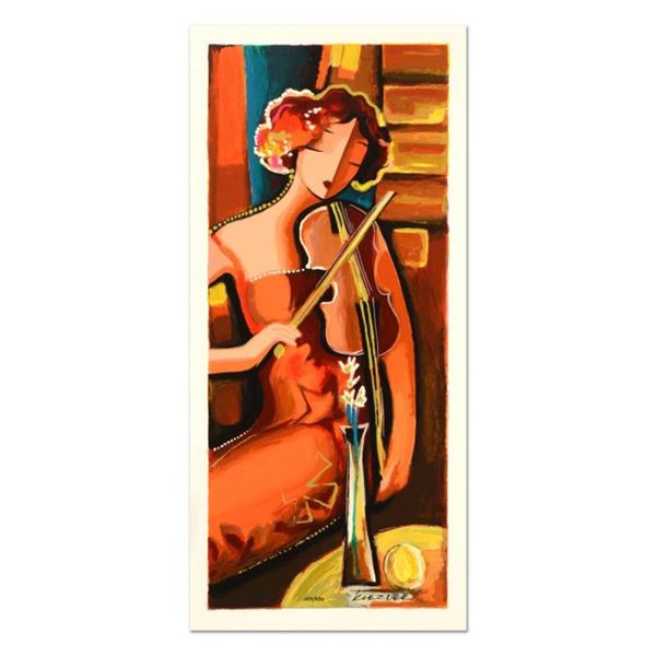 "Michael Kerzner, ""The Violinist"" Limited Edition Serigraph, Numbered and Hand Si"