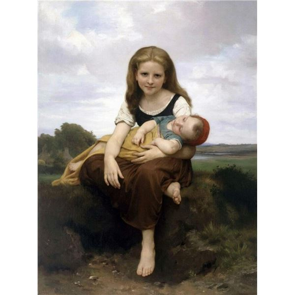 William Bouguereau - The Elder Sister
