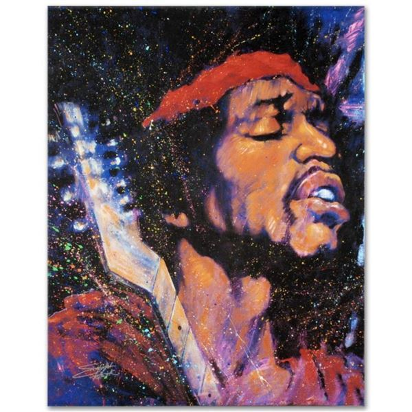 """Purple Haze"" Limited Edition Giclee on Canvas by Stephen Fishwick, Numbered and"