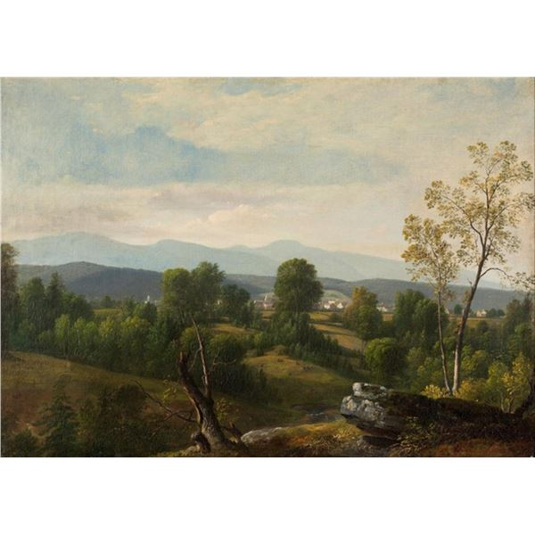 Asher Brwon Durand - A View of the Valley