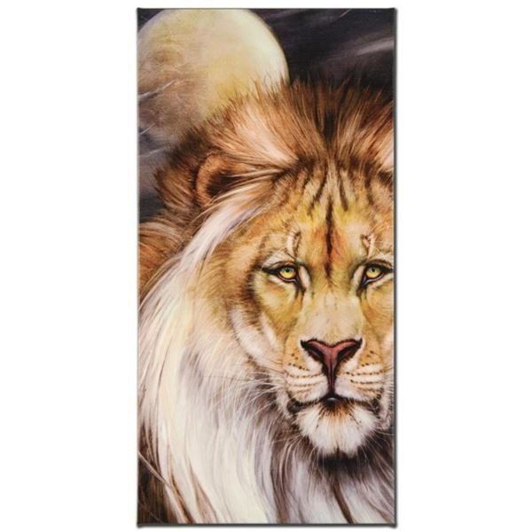 """Leo Moon"" Limited Edition Giclee on Canvas by Martin Katon, Numbered and Hand S"