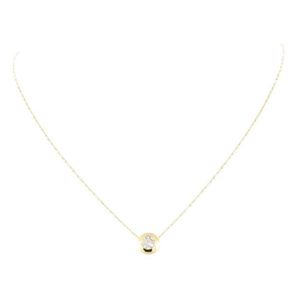 1.02 ctw Diamond Necklace - 14KT Yellow Gold