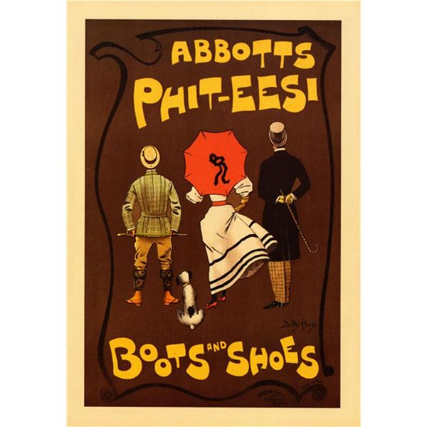 Dudley Hardy - Abbotts Phit-eesi Boots and Shoes