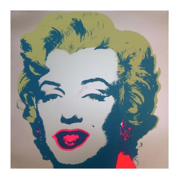 "Andy Warhol ""Marilyn 11.26"" Silk Screen Print from Sunday B Morning."