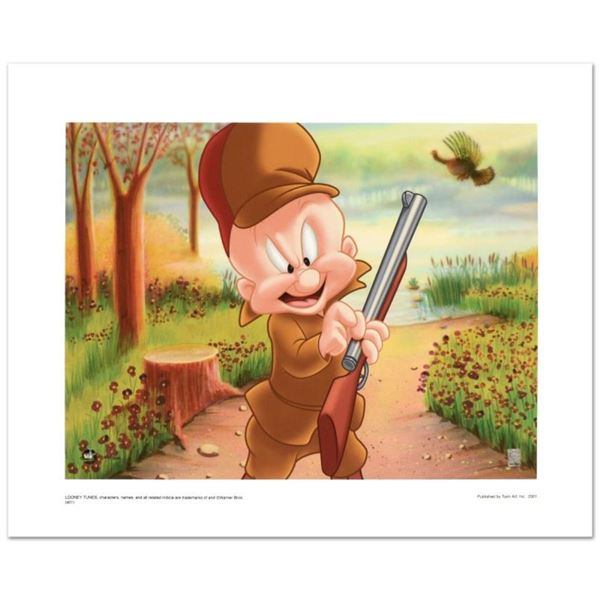 """Elmer Hunting"" Limited Edition Giclee from Warner Bros., Numbered with Hologram"