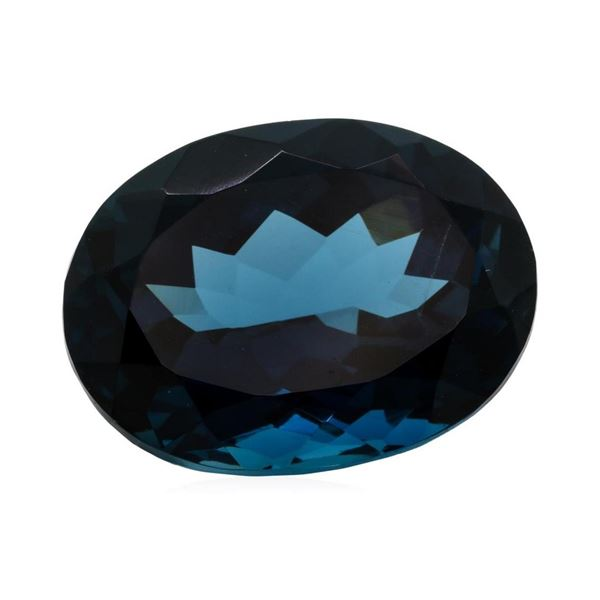 24.10 ct. Natural Oval Cut London Blue Topaz
