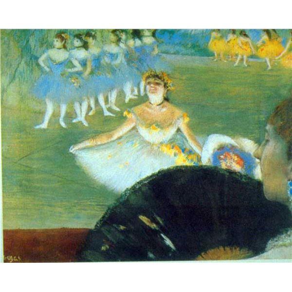 Edgar Degas - Dance With Bouquet