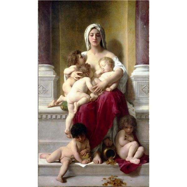 William Bouguereau - Charity