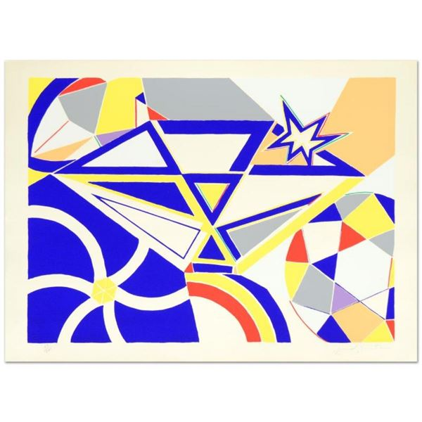 """Diamond"" Limited Edition Serigraph by Martin Knox, Numbered and Hand Signed by"