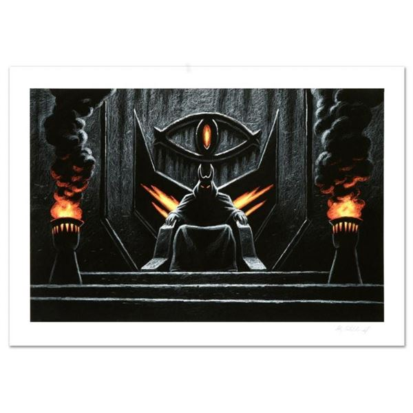 """Sauron The Dark Lord"" Limited Edition Giclee by Greg Hildebrandt. Numbered and"