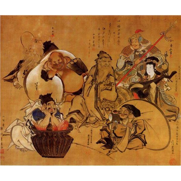 Hokusai - Seven Gods of Fortune