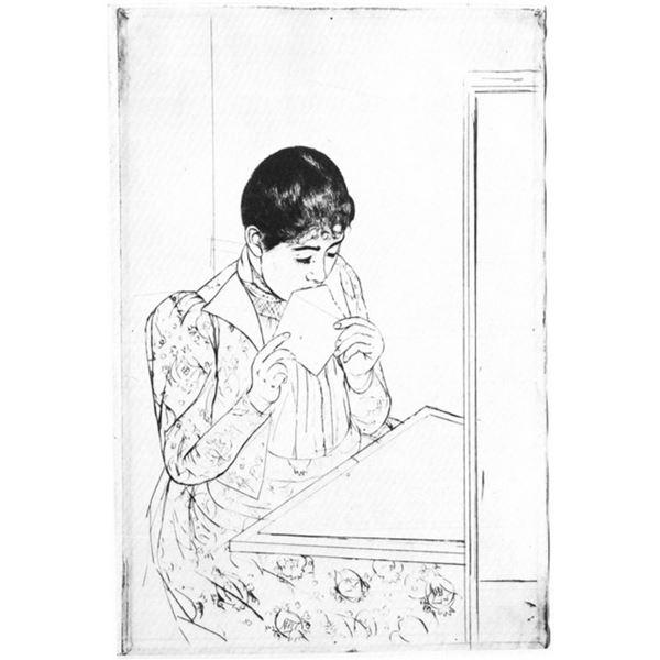 Mary Cassatt - The Letter #2