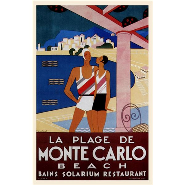 Phillipe Bouchard - Monte Carlo Beach
