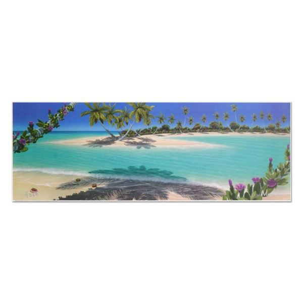 """Dan Mackin, """"Morning Glory Bay"""" Limited Edition Lithograph, Numbered and Hand Si"""