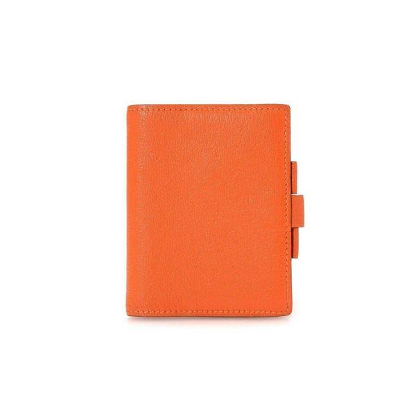 Hermes Orange Agenda Cover Wallet