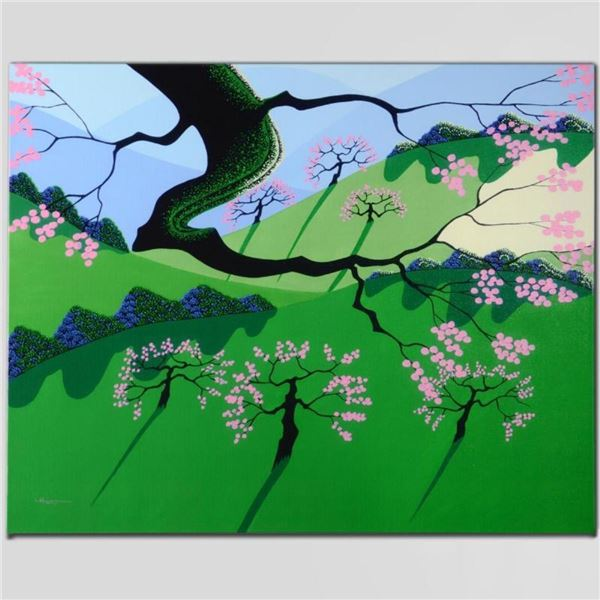 """""""Cherries Jubilee"""" Limited Edition Giclee on Canvas by Larissa Holt, Numbered an"""