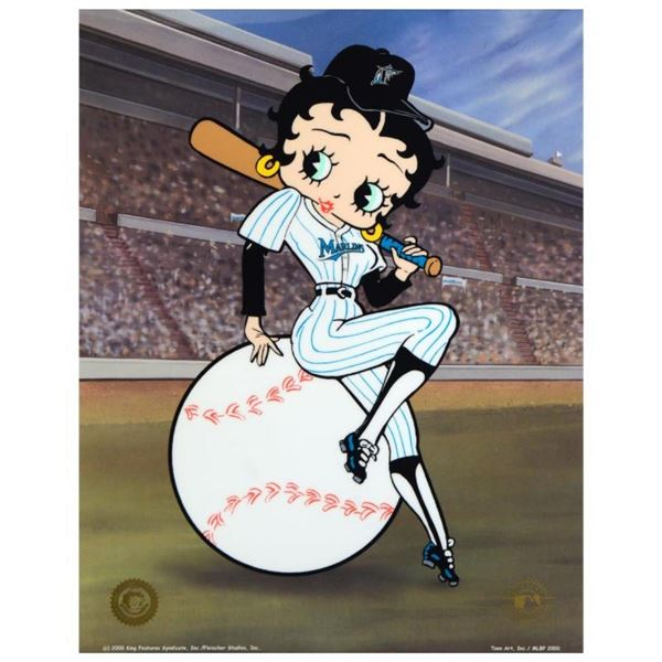 """Betty on Deck, Marlins"" Limited Edition Sericel from King Features Syndicate, I"