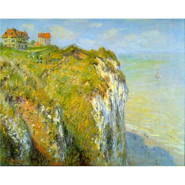 Claude Monet - Cliffs