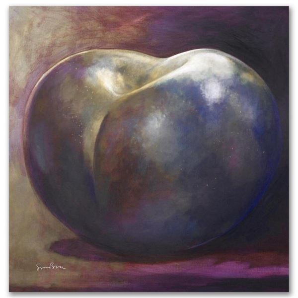 """Bronze"" Limited Edition Giclee on Canvas by Simon Bull, Numbered and Signed. Th"
