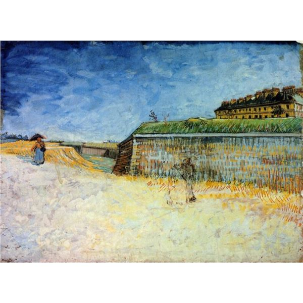 Van Gogh - The Ramparts Of Paris 2