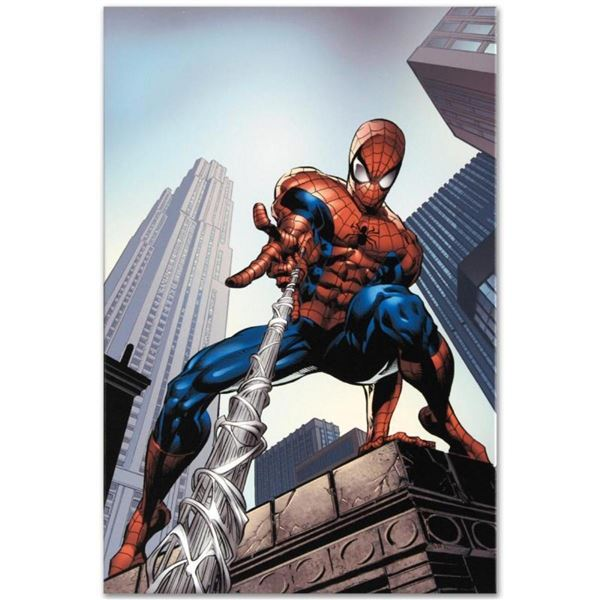 "Marvel Comics ""Amazing Spider-Man #520"" Numbered Limited Edition Giclee on Canva"