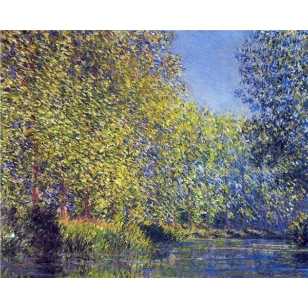 Claude Monet - A Bend in the Epte Giverny