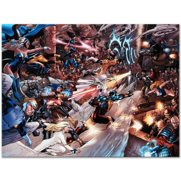 """Marvel Comics """"X-Men vs. Agents of Atlas #2"""" Numbered Limited Edition Giclee on"""