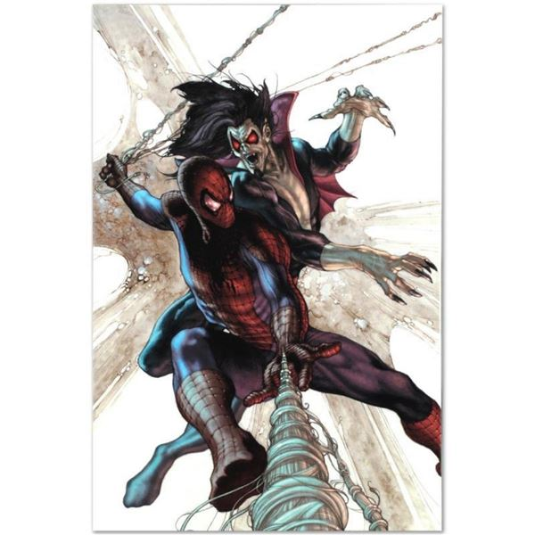 """Marvel Comics """"The Amazing Spider-Man #622"""" Numbered Limited Edition Giclee on C"""