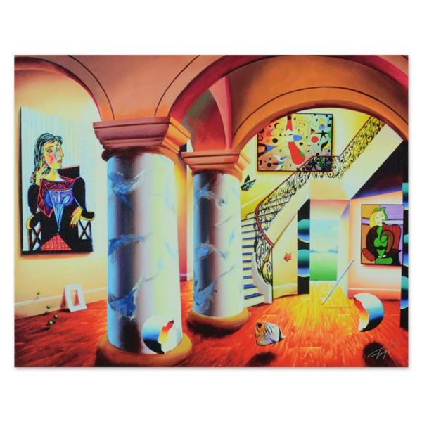"Ferjo, ""Majestic Splendor"" Limited Edition on Gallery Wrapped Canvas, Numbered a"