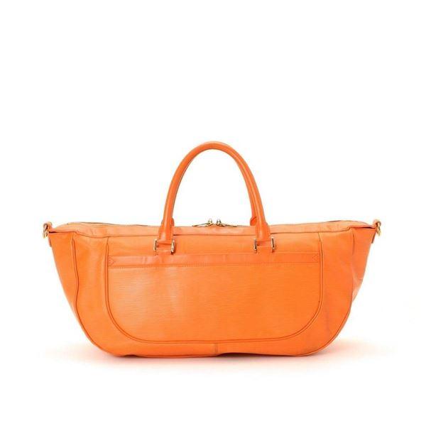 Louis Vuitton Orange Dhanura GM Travel Bag